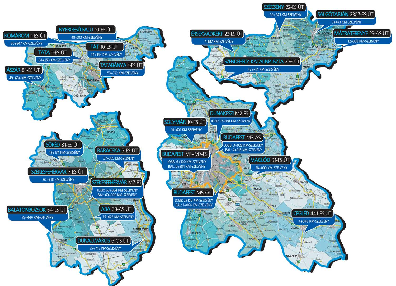 traffipax térkép totalcar Totalcar   Magazin   Íme az összes szupertraffipax helye
