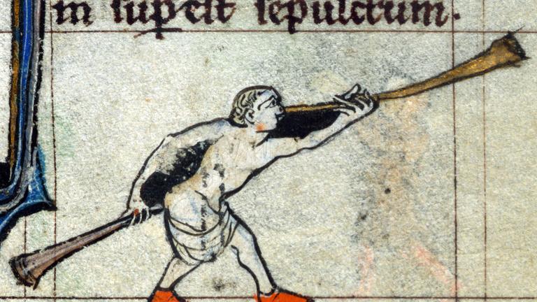 Elképesztően bizarr hangszerábrázolások a középkorból
