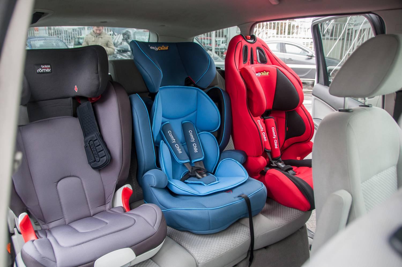 Totalcar - Magazin - Hány gyerekülés fér egy autóba?