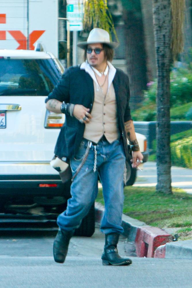 Johnny Depp mostanában kezdett apókásodni