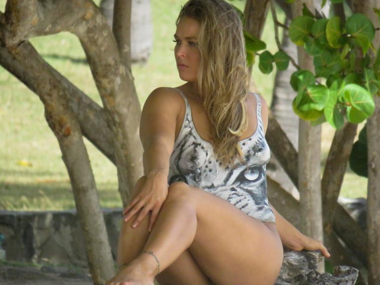 A hét végén derült ki, hogy a Sports Illustrated várva várt feneke Ronda Rousey-hoz tartozik