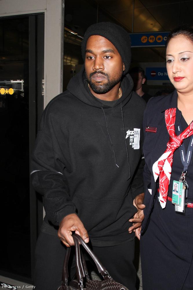 Természetesen Kanye Westet.