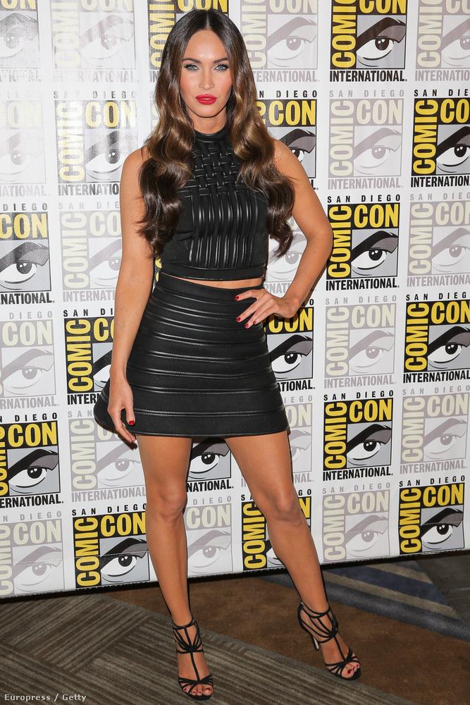 Megan Fox gyönyörű, ez tény
