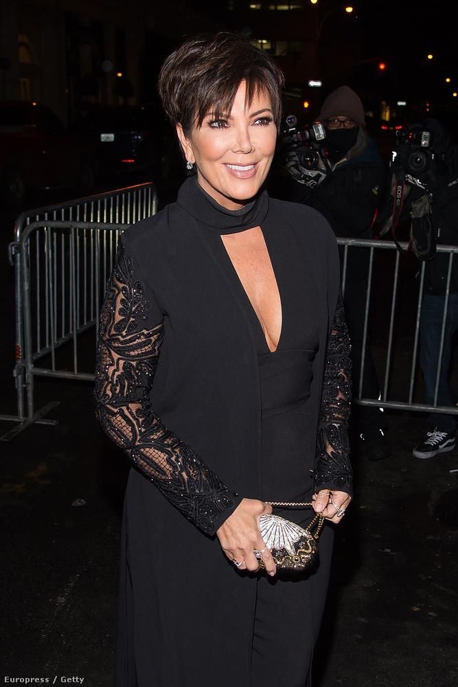 Kris Jenner is ott volt a New York-i megnyitón