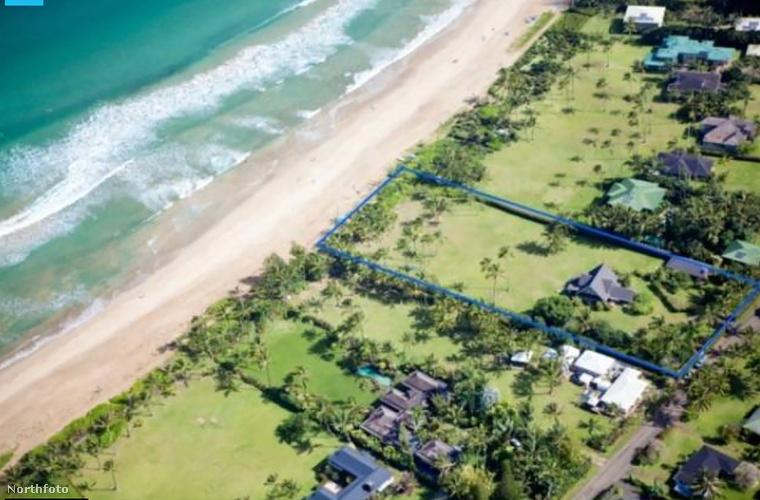 Ez itt Kauai, a Hawaii-szigetek nyolc nagy szigetének egyike, ahol az Oscar-díjas színésznő és anya, Julia Roberts vett magának egy kisebb házikót még 2011-ben