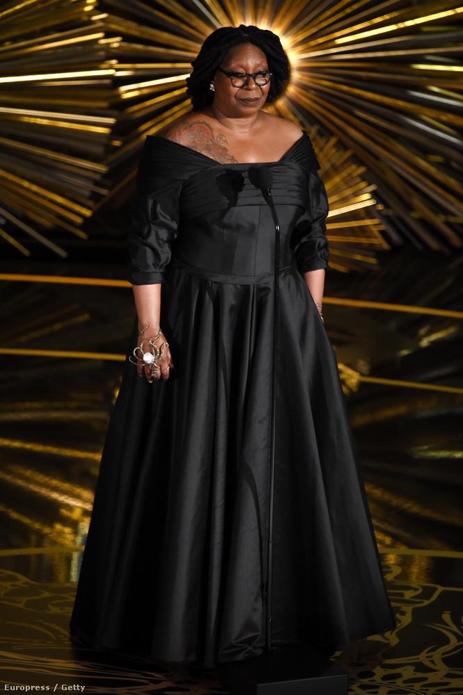 Whoopi Goldberget is szóvá tettük már külön is, mert összekeverték Oprah Winfrey-vel, de innen sem hiányozhat, mert...