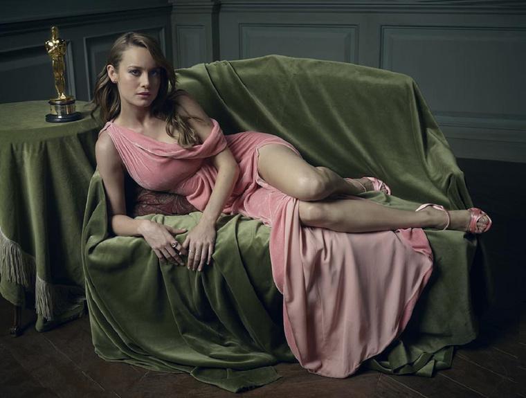 Brie LarsonLarson a legjobb színésznő kategóriájában nyert