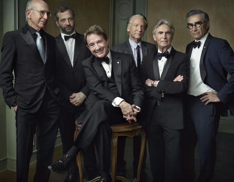Larry David, Judd Apatow, Martin Short, Bill Maher, David Steinberg és Eugene Levy