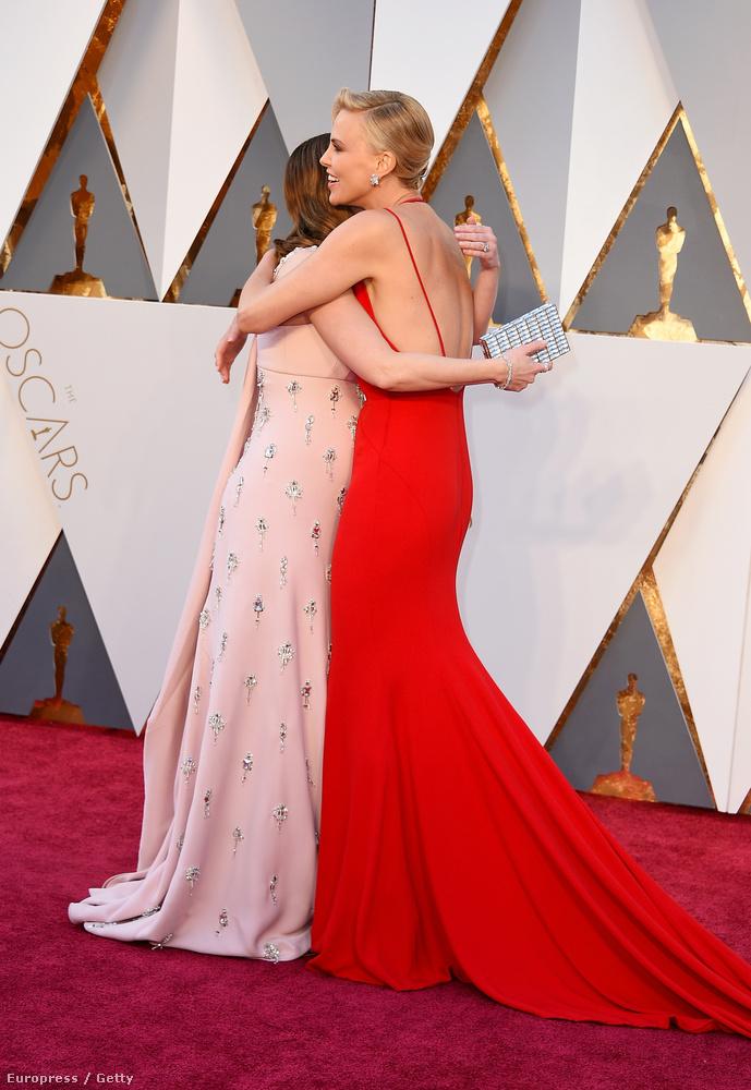 Charlize Theron, Blunt, és egy has az Oscaron