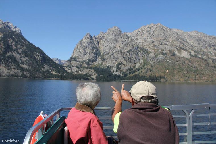 Wyoming egyik lenyűgöző taván.