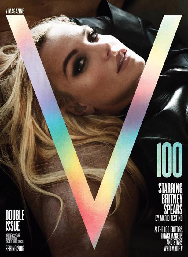 Britney Spears a V magazinos címlapjával borította ki a többséget