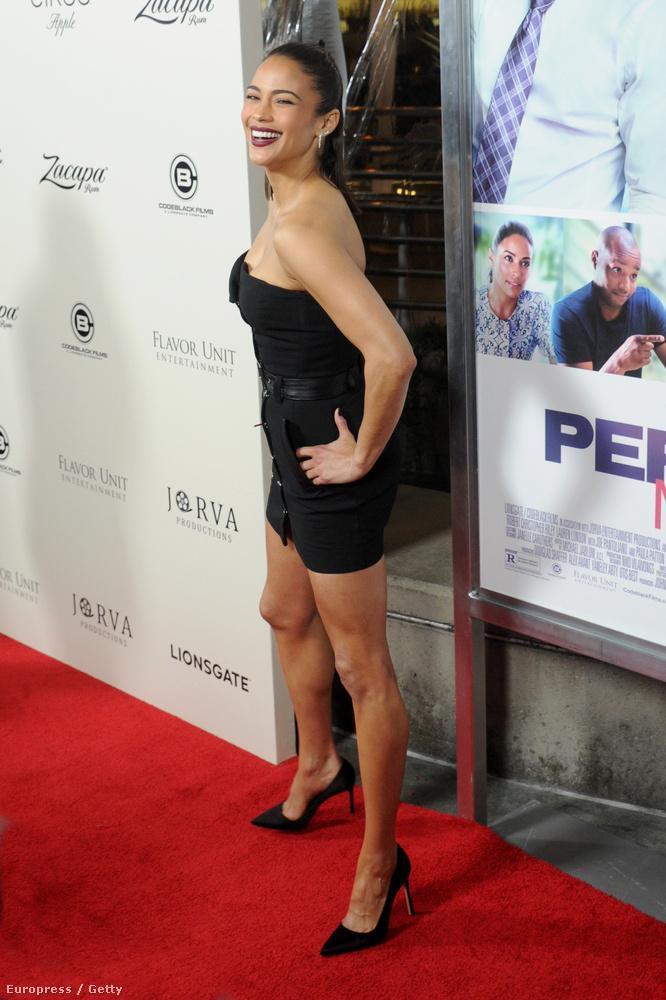 Paula Patton is szerepet kapott a filmben, a képen ő is elég magabiztosnak látszik.