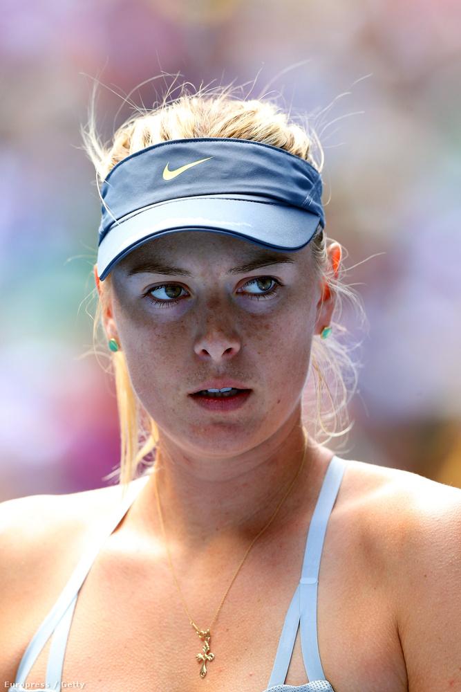 A világelső orosz teniszezőnő a közelmúltban ismerte el, hogy pozitív doppingtesztet produkált a januári ausztrál nyílt bajnokságon