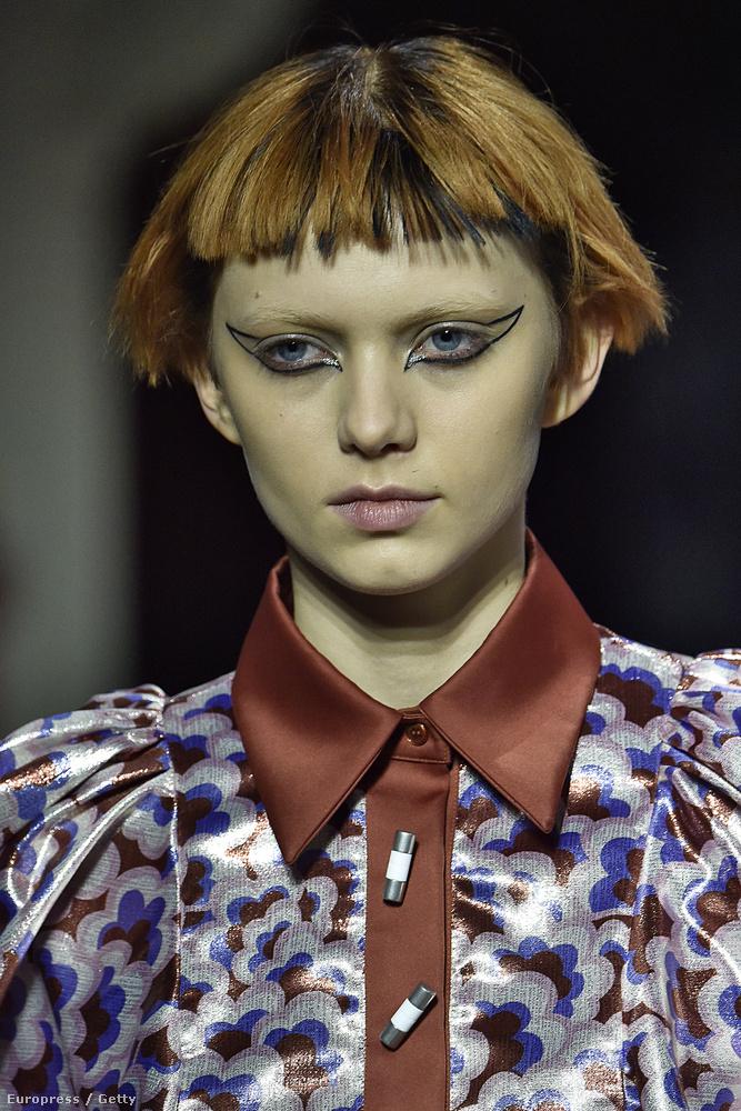 Na nem mintha a Kenzónál a szokványos frizurákat részesítették volna előnyben