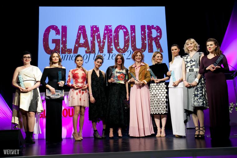 Szóval ők lettek idén az év női a Glamour szavazói szerint...