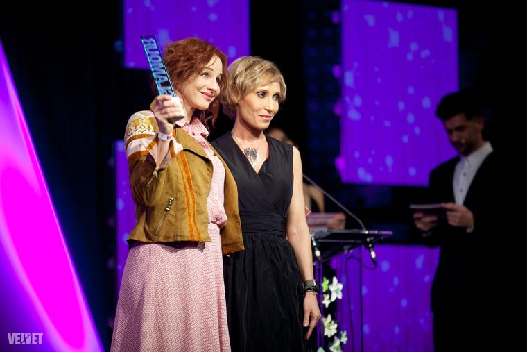 Az év színésznője díjat Ónodi Eszter kapta, aki a napokban elhunyt Kamondi Zoltán rendezőnek ajánlotta azt