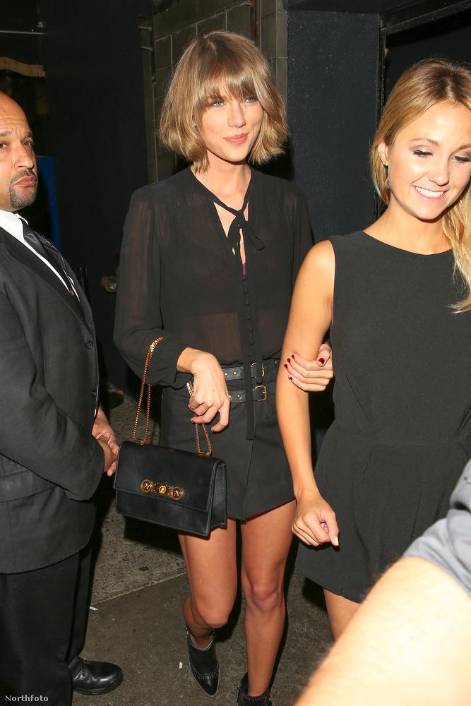 Taylor Swift volt a zenefelelős a bulin