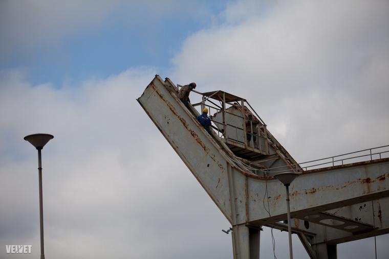 Az új arénához 12 ezer tonna acélt és 150 ezer köbméter betont használnak fel