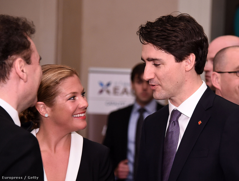 Sophie Grégoire-Trudeau igazi politikusfeleség, mindenben mellette áll