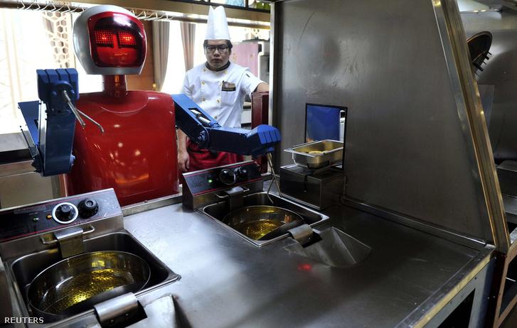robot a konyhban