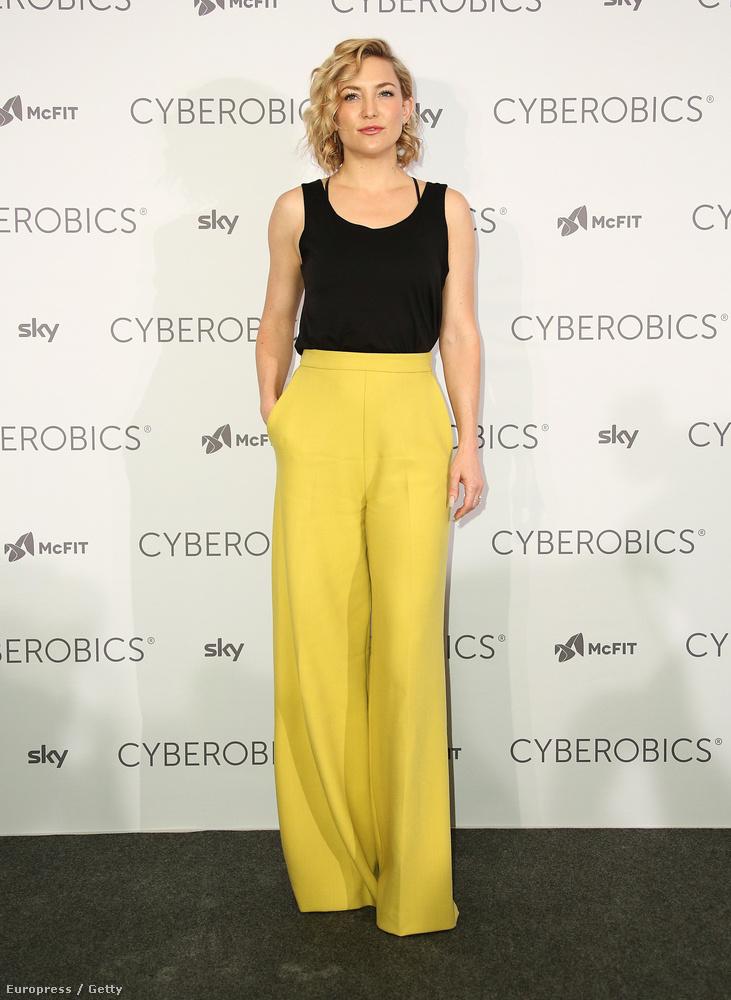 Kate Hudson Berlinben volt egy mozgást népszerűsítő eseményen