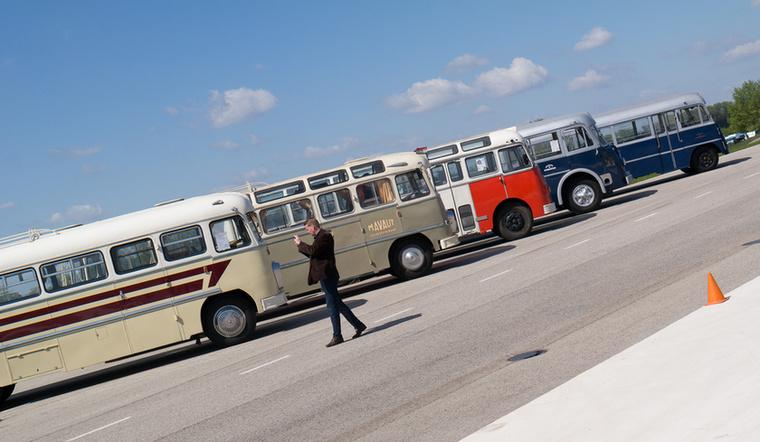 A régi buszok tárlatán pedig lehetett zokogni, hogy bezzeg amikor még volt magyar buszgyártás