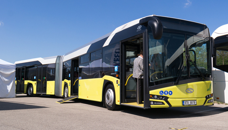 A Solaris Urbino - wifivel!!!