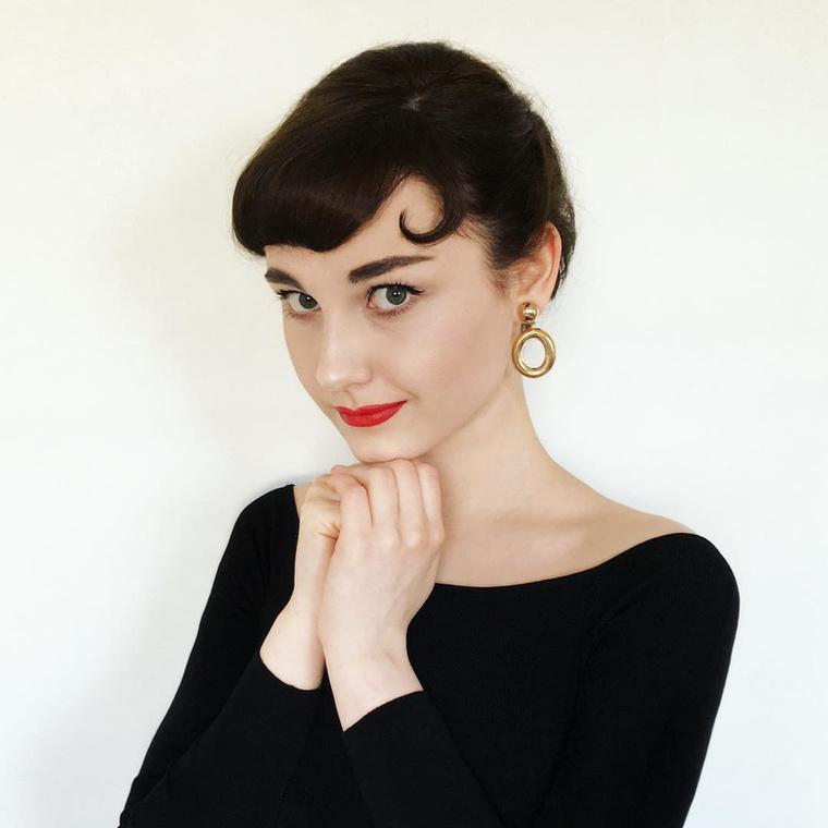 Nézze csak milyen klassz ez a fotó Audrey Hepburnről