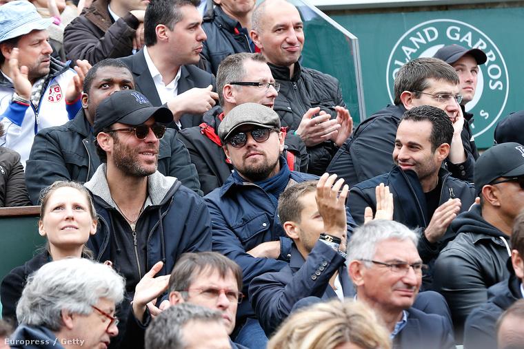 A mérkőzést Párizsban nézte a barátaival.