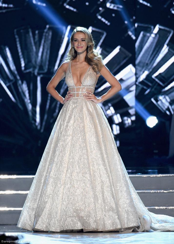 A tavalyi győztes, Olivia Jordan biztos szomorú volt, hogy már nem ő a legszebb:(((