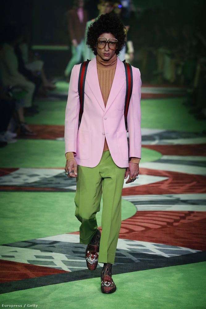 Egészen biztos, hogy ezt a garbót nem a Gucci tervezte, hanem Peterdi Pál hagyatékából került elő