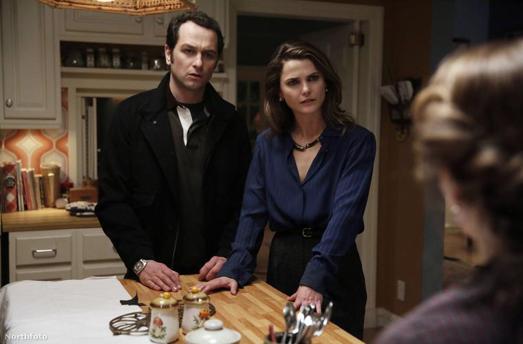 Matthew Rhys és Keri Russell a Foglalkozásuk: amerikai című sorozatban játszanak házaspárt és szovjet kémeket