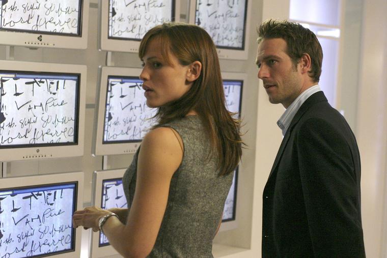 Az Alias párosa, Sydney és Vaughn a sorozatban szupertitkos CIA-csoportnak dolgoztak
