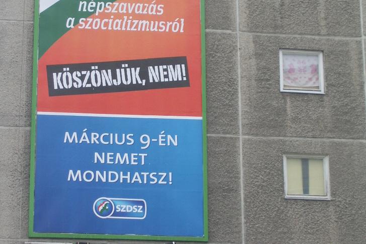 SZDSZ poster Kelenfold 2008-0214