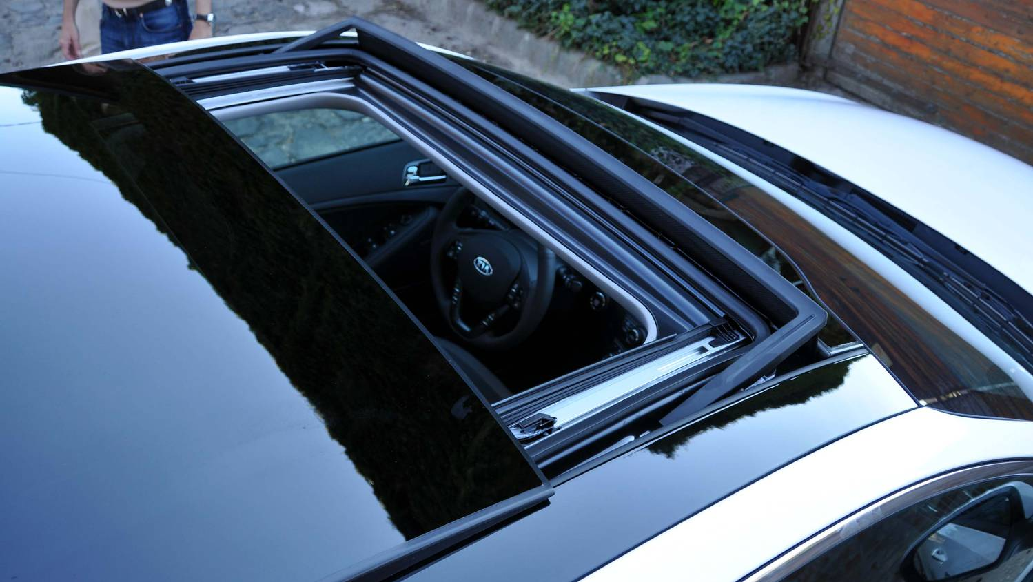 Autó tetőablak alkatrész