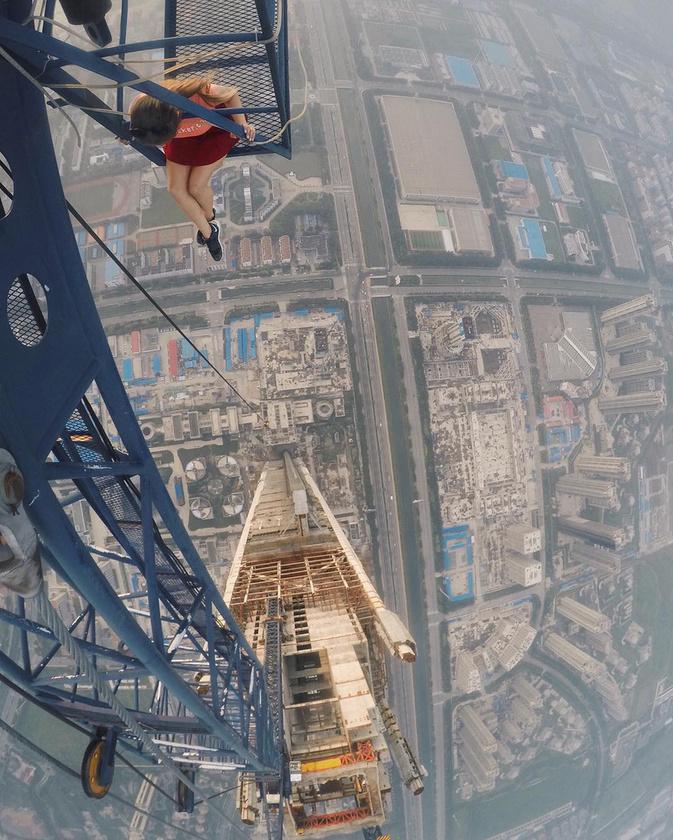 Az épülőben lévő Goldin Finance 117 felhőkarcoló a kínai Tianjinben található és egészen pontosan 597 méter magas.