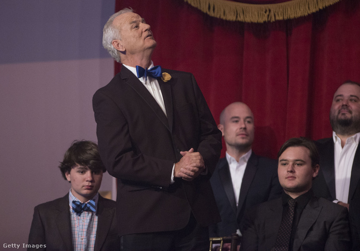 Bill Murray a díjátadón