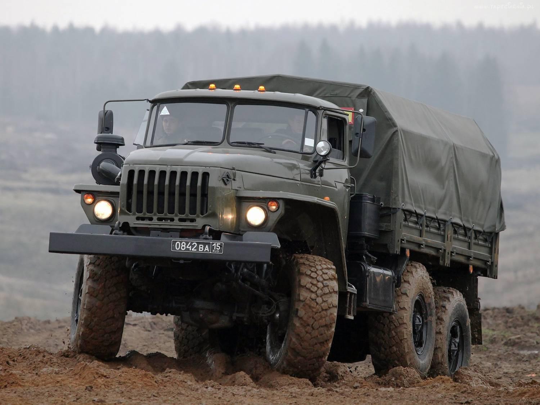 Ural teherautó