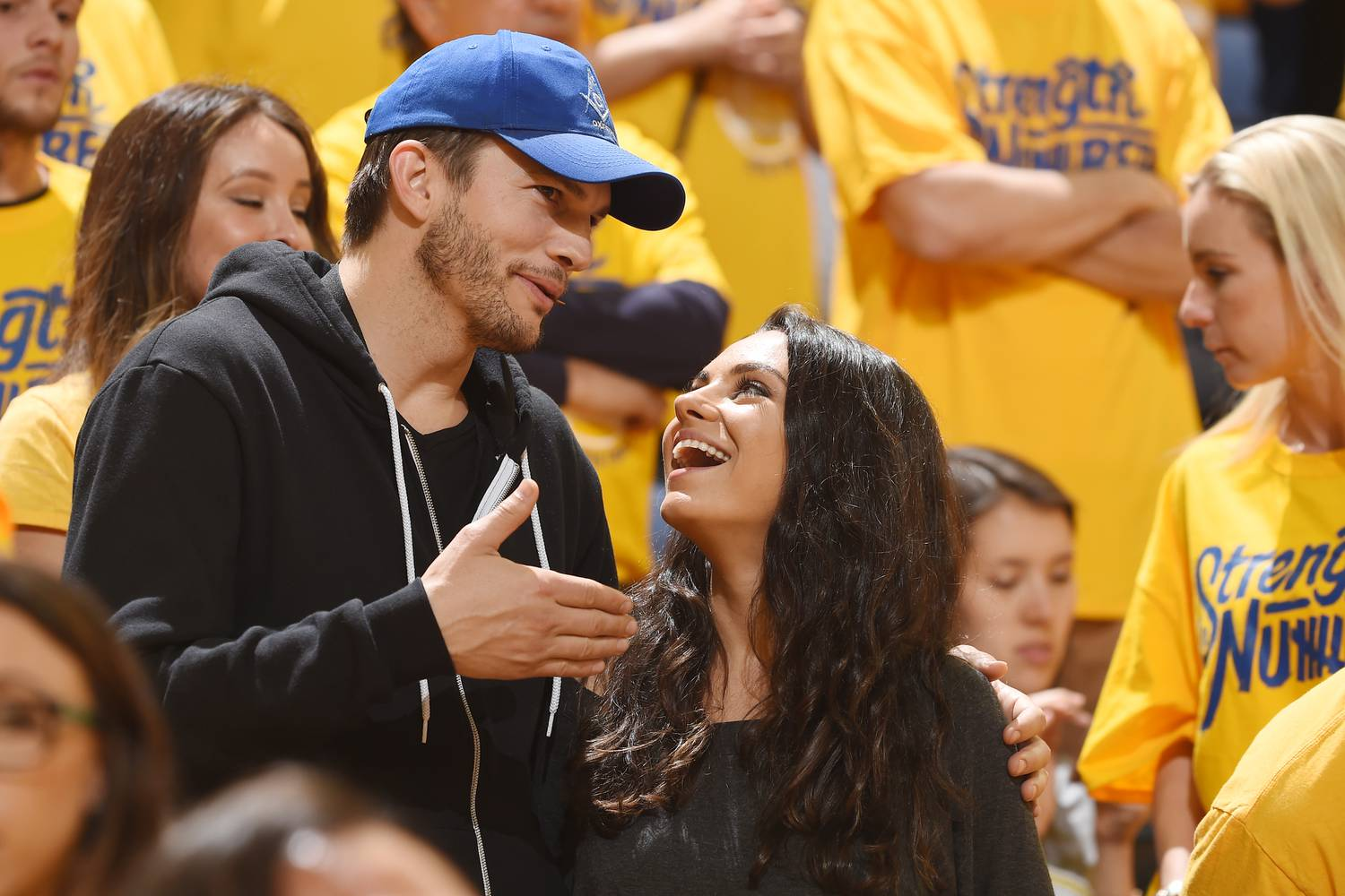 Mila Kunis and Ashton Kutcher's family is still very nice