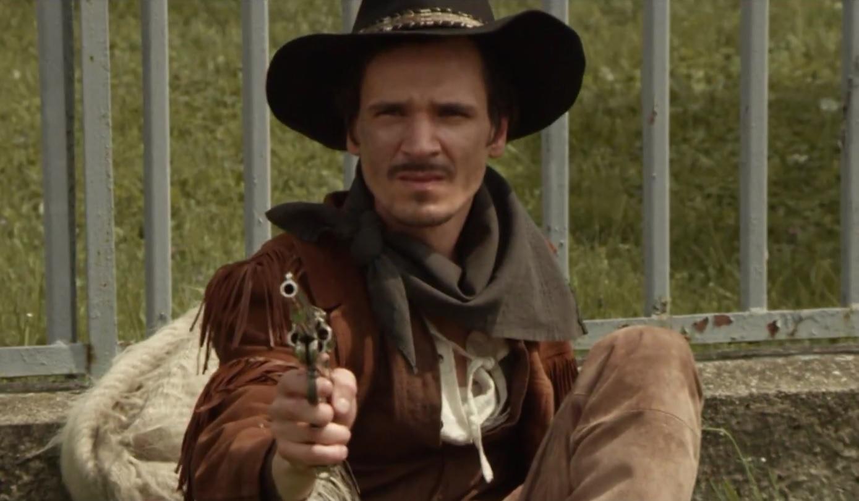 Index Kultúr Magányos cowboy császkált Óbudán