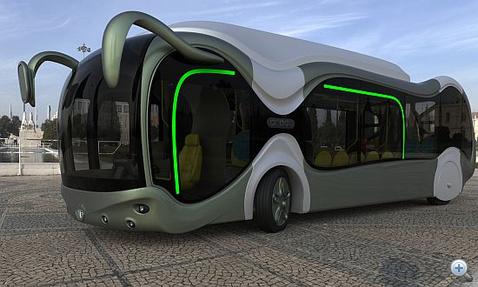 Új Magyar busz