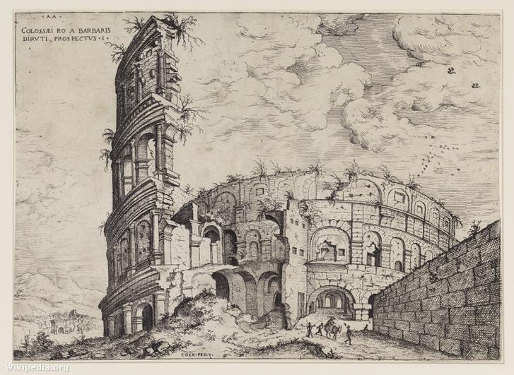 Hieronymus Cock - Kolosseum 1551