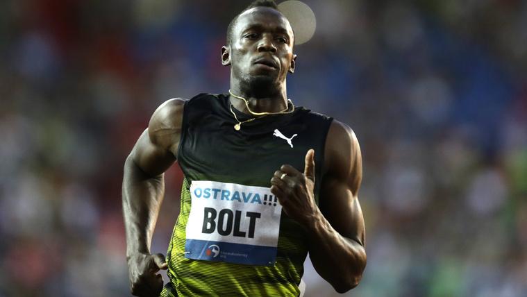 Usain Bolt megcsókolta a célvonalat megható búcsúpartiján