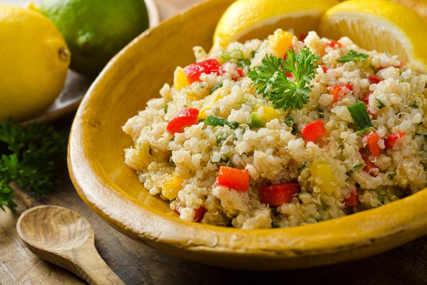 a quinoa fogyás egészségügyi előnyei