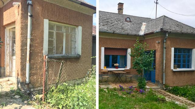 """""""Megrémített a ház állapota, de a férjem látta benne a lehetőséget"""""""