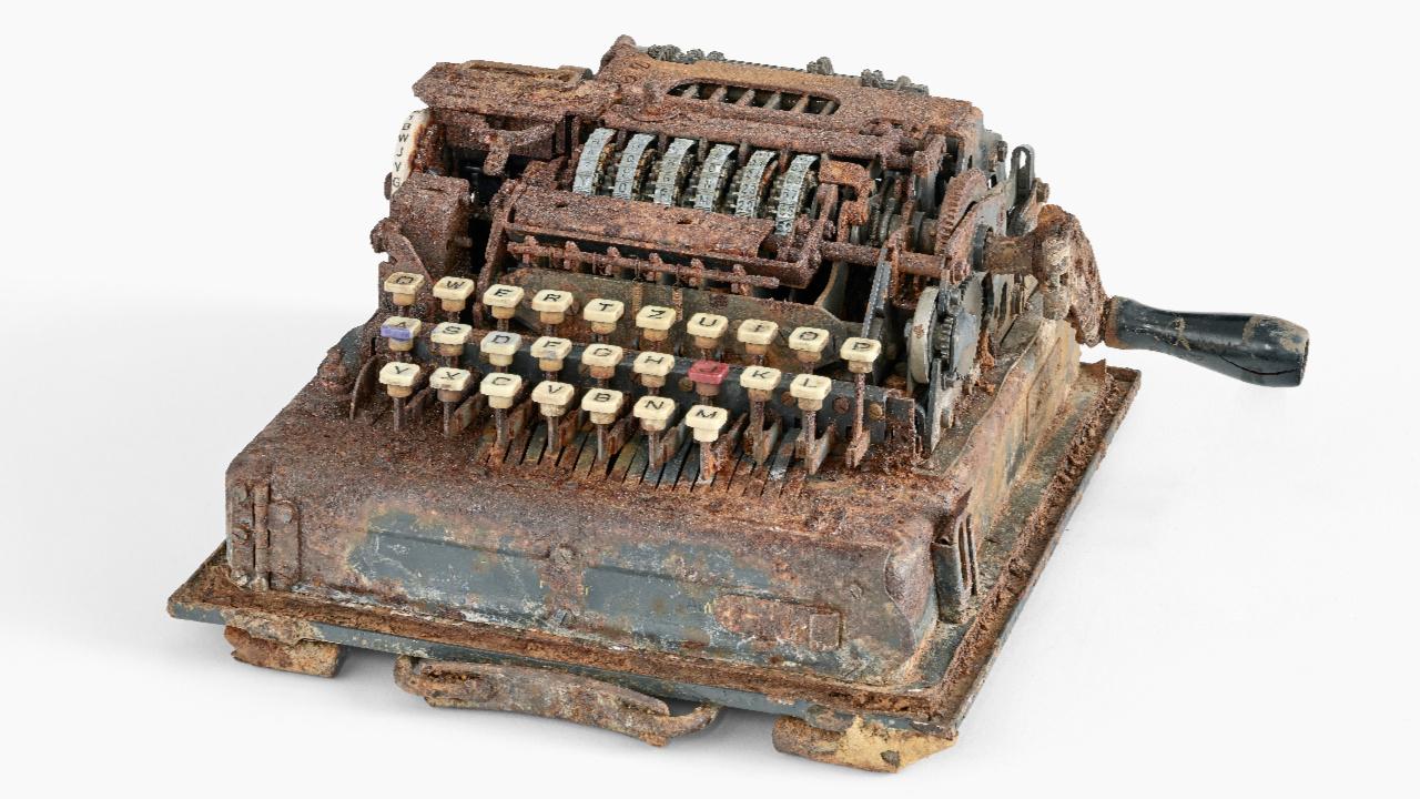 Kincskeresők találtak az Enigma utódára