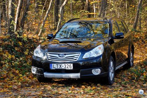 Totalcar - Tesztek - Subaru Outback 2.0 Boxer Diesel
