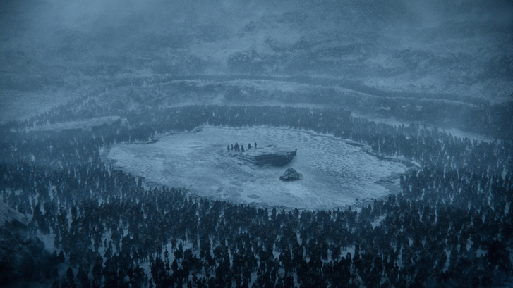 Frozen-Lake-Beyond-the-Wall-game-of-thrones