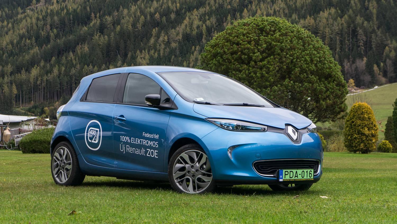 Totalcar - Tesztek - Renault Zoe Intens R90 – 2017.