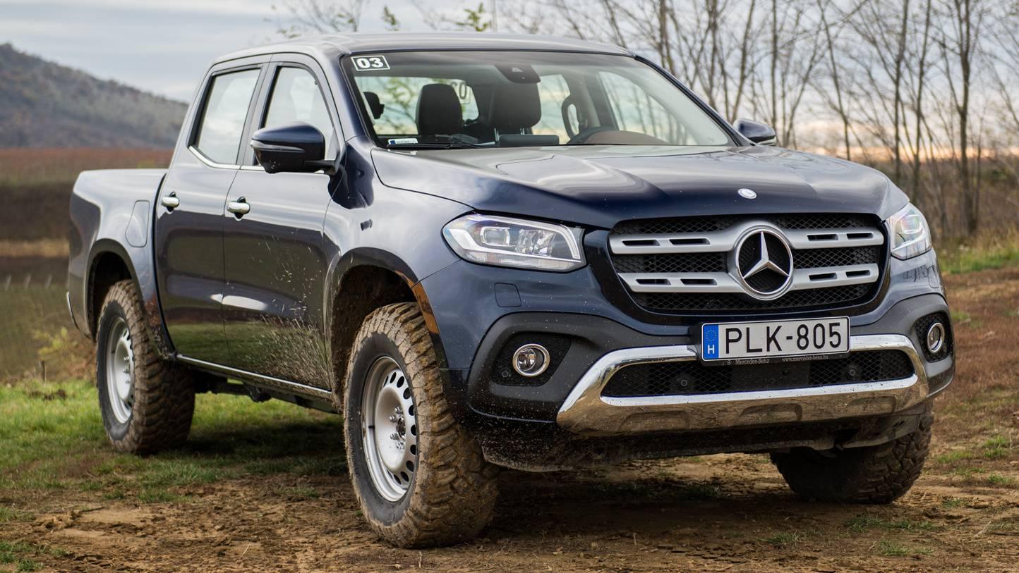 Totalcar Tesztek Bemutat 243 Mercedes Benz X Oszt 225 Ly 2017